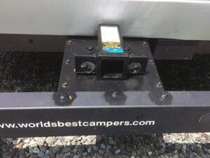new bike hitch receiver for pop up camper