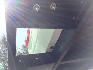 underside of rv bike hitch