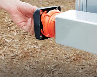 Camco magnetic bumper cap