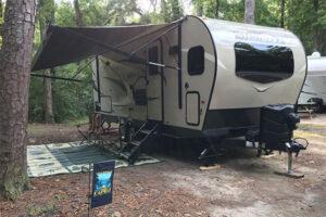 Rockwood Mini Lite 2506s travel trailer in Myrtle Beach State Park